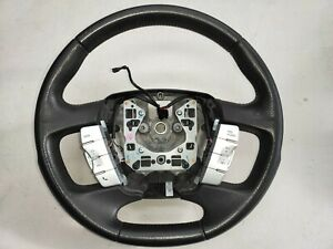 FORD FPV FG USED LEATHER STEERING WHEEL GENUINE PERFORATED GT GTP XR G6 F6