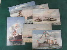 Marines & Commandos Naval Collectable WWI Military Postcards (1914-1918)