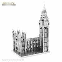 Fascinations Metal Earth ICONX BIG BEN 3D Laser Cut Steel Puzzle DIY Model Kit