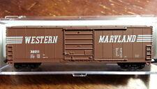 Bev-bel 10014 WM WESTERN MARYLAND EVENS 50' Boxcar #38011