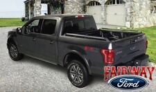15 thru 18 Ford F-150 OEM Genuine Ford Polished Stainless Side Rail Kit 6.5' Bed