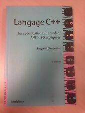 """Livre en français """"LANGAGE C++"""""""