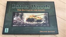 juego wargame - BITTER WOODS Deluxe Edition - L2 - WWII - The Bulge - Unpunched