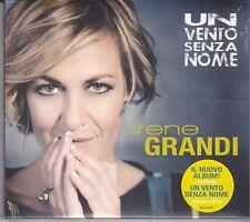 CD ♫ Audio IRENE GRANDI • UN VENTO SENZA NOME nuovo sigillato digipack