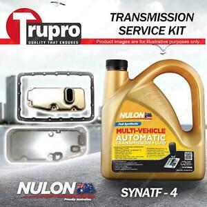 Nulon SYNATF Transmission Oil + Filter Service Kit for Toyota Hilux KUN16 KUN26R