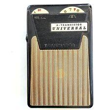 Vintage 6-Transistor Universal Pocket Hand Radio Music Revolution Working