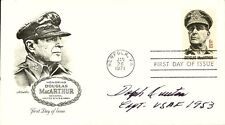 DOLPH OVERTON - FIRST DAY COVER SIGNED
