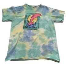 Pink Dolphin Tie Dye T-Shirt Mens Small Multicolor Logo Graphic Streetwear