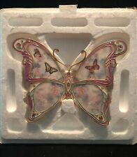 Nature's Elegance 3-D butterfly plate by Lena Liu from Bradford Exchange