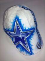 Airbrushed Dallas Cowboys Design on Trucker Hats, SNAPBACK HATS,& OTTOFLEX CAPS