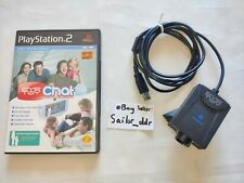 Gebrauchtes-Playstation 2 Eye Toy Kamera Web Cam USB ps2 mit EyeToy Chat Licht