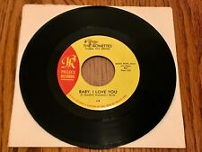 THE RONETTES BABY I LOVE YOU / MISS JOAN AND MR. SAM ORIGINAL FIRST PRESS 45 RPM