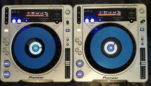 2 X PIONEER CDJ 800 Mk2 SERVICED, MODED, FULLY WORKING Cd Mp3 Dj Decks