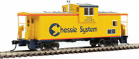 Walthers-HO-#8704     International Extended Wide-Vision Caboose - C&O #903193