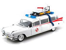 Hot Wheels  1959 Cadillac Ambulance ECTO-1 Ghostbusters 1 Movie 1/18 NEW BCJ75