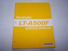 SUZUKI  LT-A500F SERVICE REPAIR MANUAL  99500-44030-01E +