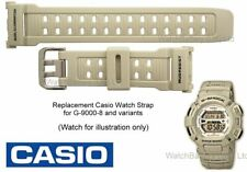 Genuine Casio G-9000 G-9000-8  G 9000 Stormtrooper Mudman Watch Strap Band Beige