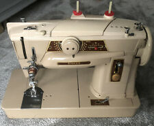 More details for singer  401 electric sewing machine with carry case and manual