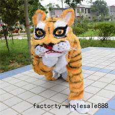 Unisex Tiger Animal Mascot Costume Event Cheerleading Party Cos Game Fancy Dress