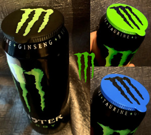 Monster Energy Drink Can Saver Cap Lid Cool Birthday Gift Any Colour