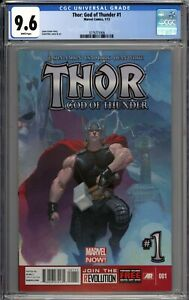 Thor: God of Thunder #1 CGC 9.6 NM+ WHITE PAGES
