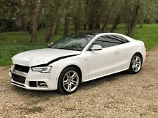 2013 13 AUDI A5 1.8 TFSI S LINE COUPE WHITE FACELIFT DAMAGED SALVAGE REPAIRABLE