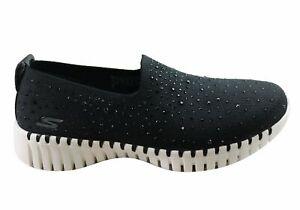 Skechers Go Walk Smart Bedazzle Womens Comfortable Slip On Shoes - Mesh