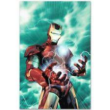 MARVEL Comics Limited Edition Iron Man Legacy Numbered Canvas Art