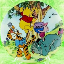 Disney Winnie The Pooh Plate Bradford Fun 100 Acre Woods A Sticky Situation 6th