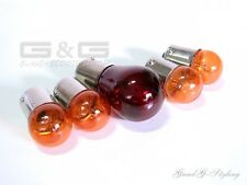 Blinker Bulbs Rear Light Bulbs Indicator Bulb Orange 4X 12V 10W 1x 12V 21/5W