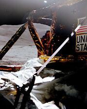 Apollo 15 Letzte von Rover von Mond Lander 8x10 Silber Halogen Fotodruck
