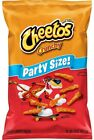 NEW CHEETOS CRUNCHY CHIPS PARTY SIZE 15 OZ BAG CHEESE FLAVORED SNACKS FREE SHIP