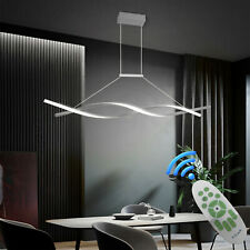 Pendant Light Dimmable Ceiling Hanging Lamp Modern Chandeliers Living Room New