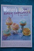 Easy Cupcakes by Colour by The Australian Women's Weekly (Paperback) LIKE NEW