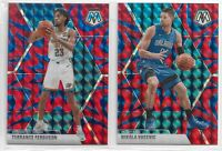 2019-20 Panini Mosaic Basketball REACTIVE BLUE - Complete Your Set You Pick!