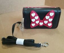 Disney Parks Minnie Mouse Bow Smart Cell Phone Purse Credit Card Holder
