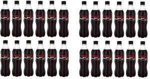 Zero Coca Cola Soft Drinks 500ml Bottles Pack of 24