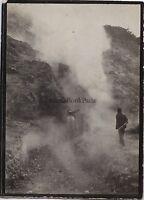 Pozzuoli Italia Vintage Analogica 1909 Piccolo Formato 9x6, 5cm