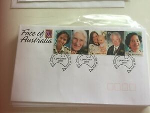 Australia First Day Cover  2000 Faces of Australia Canberra 2601