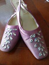 Coloriffics Pink Slingback Shoes Size 10M