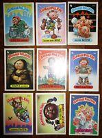 Garbage Pail Kids Lot 9 cards Topps 67b 151a 93b 80b 139b 129a 141b 107b 130a