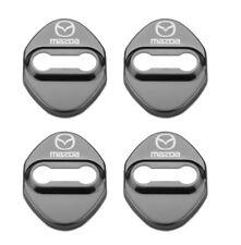 Mazda3 Mazda6 CX3 CX5 Door Cover Plate Styling Accessories - Gun Metal