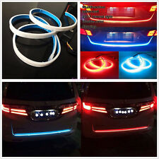 Dual Color Car Off-Road Flow Type Flowing LED Light Tailgate Running Lamp Strip