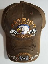 2Nd Amendment Patriot Stand Your Ground Military Cap