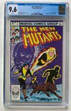 The New Mutants #1 CGC 9.6 White Pages Origin Of Karma 1983 Marvel Comics