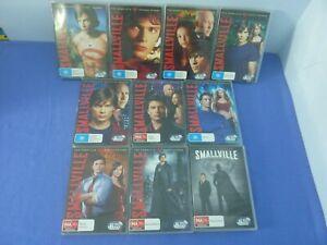 Smallville DVD Complete Series Season 1-10 R4 Free Tracked