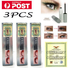 3PCS FEG Natural Genuine Serum Eyelash Growth Booster Eyebrow Enhancer Eyelash