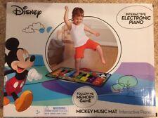 Disney Mickey Mouse Mickey's Music Mat NEW  Interactive Piano
