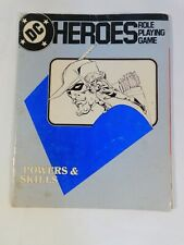 1985 DC Heroes Role Playing Game Powers and Skills