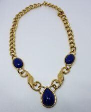 TRIFARI Vintage Necklace GoldtonePendant Necklace